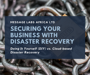Disaster Recovery; The Pain Of Doing It Yourself (DIY)