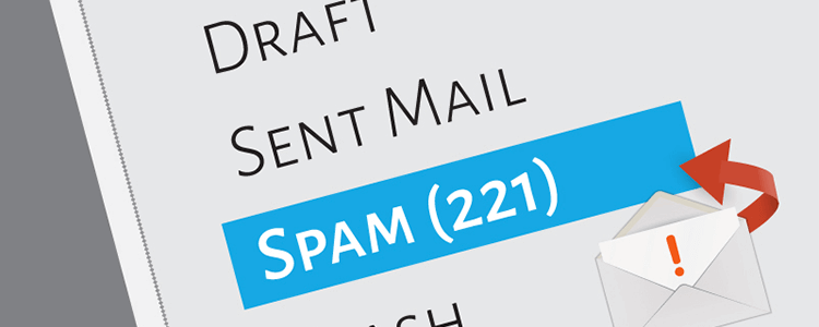 Types of spam emails and common types of malware