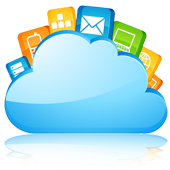 Applications hosted on the cloud