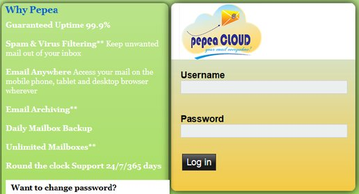 webmail email access Pepea Cloud Email Hosting in Kenya and East Africa